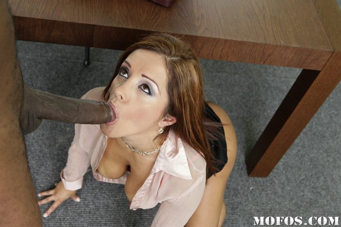 Francesca Le Sucking Cock